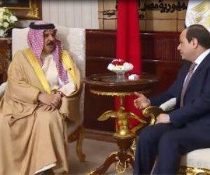 الرئيس السيسى يستقبل اليوم ملك البحرين بمدينة شرم الشيخ