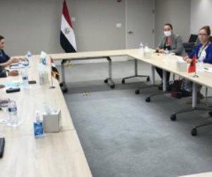سامح شكرى يبحث مع وزيرة خارجية ألبانيا تعزيز التعاون الثنائى بين البلدين
