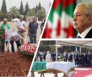 """الجزائر تودع اثنين من رؤسائها السابقين.. عبدالقادر بن صالح يلحق بـ""""بو تفليقة"""""""