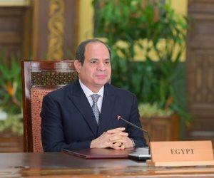 الرئيس السيسى: مصر انضمت لتحالف التغذية المدرسية إيمانا بضرورة توفير غذاء صحي للطلاب