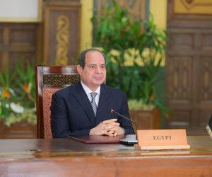 الرئيس السيسى: مصر دشنت حوارا وطنيا أسفر عن التوافق على وثيقة للتحول إلى نظام غذائى صحى مستدام