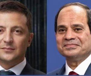 الرئيس السيسي يتلقي اتصالا من رئيس أوكرانيا.. و«زيلينسكي» يؤكد حرصه على التنسيق والتشاور