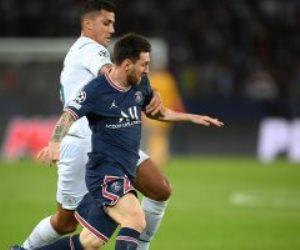 حاجة غريبة.. أداء سئ لميسي في الشوط الأول لمباراة باريس سان جيرمان ضد مان سيتي