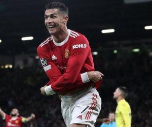 في مباراة مثيرة .. رونالدو يقود مانشستر يونايتد لفوز قاتل على فياريال فى دوري أبطال أوروبا