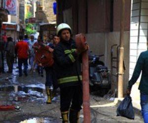 إصابة 12 عاملا فى حريق مصنع مبيدات بالشرقية والدفع بـ 13 سيارة إطفاء