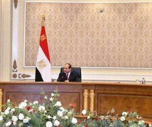 الرئيس السيسي لقضاة مصر: أنتم تتحملون المسئولية أمام الله في أحكامكم