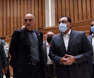 رئيس الوزراء يصطحب نظيره الأردني في جولة بالعاصمة الإدارية ويستعرضان المشروعات الجارية