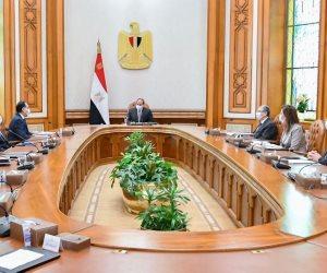 الرئيس السيسى يوجه بتدقيق الدراسات الخاصة بمشروعات تحلية المياه بالتكامل مع منظومة الدولة لتحقيق الاستغلال الأمثل