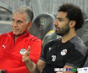 أول صور لمحمد صلاح فى تدريبات منتخب مصر استعدادا لمواجهة ليبيا