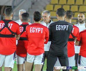 """بأوامر من """" الكاف """" .. مسحة كورونا لمنتخب مصر قبل مواجهة ليبيا"""