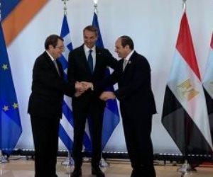 الرئيس السيسى يشيد بالتطور والتقارب المستمر فى العلاقات بين مصر وقبرص