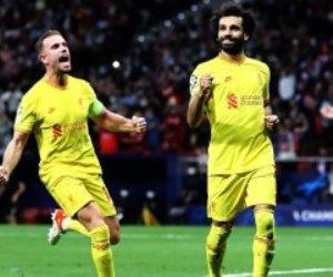 ثنائية محمد صلاح تقود ليفربول لفوز مثير على أتلتيكو مدريد فى دورى أبطال أوروبا