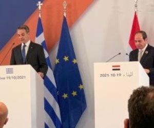 الرئيس السيسى: مصر وقبرص واليونان يدعمون إجراء الانتخابات الليبية وخروج المرتزقة