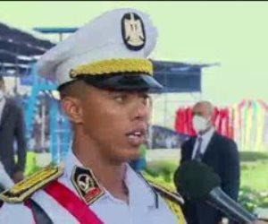 الأول على كلية الشرطة: رسالتنا نكون سبب لفائدة مصر والمجتمع