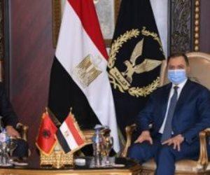 وزير الداخلية الألبانى: توسيع قاعدة التعاون الأمنى وتبادل المعلومات مع مصر