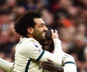 محمد صلاح يسجل هاتريك فى مرمى مانشستر يونايتد والخامس لصالح ليفربول