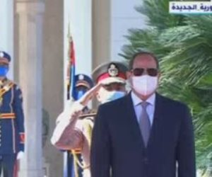 الرئيس السيسي يعرب عن اعتزازه بالعلاقات التاريخية بين مصر ورومانيا