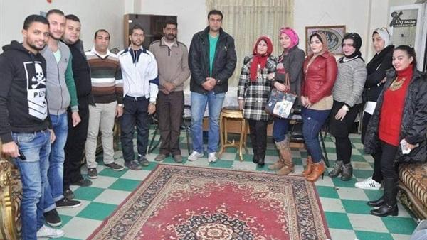 مستقبل وطن بورسعيد يزور دار المسنين ببور فؤاد (صور)