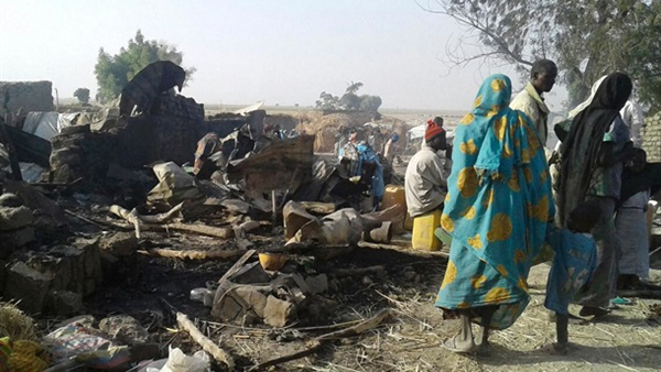 «أطباء بلا حدود»: ارتفاع قتلى الهجوم على مخيم للنازحين بنيجيريا