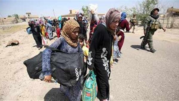 «الطوارئ بالقيارة» يستقبل 18 ألفا و543 نازحا عراقيا من الموصل