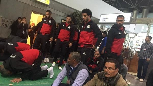 طوارئ بمطار القاهرة استعدادا لعودة بعثة الفراعنة