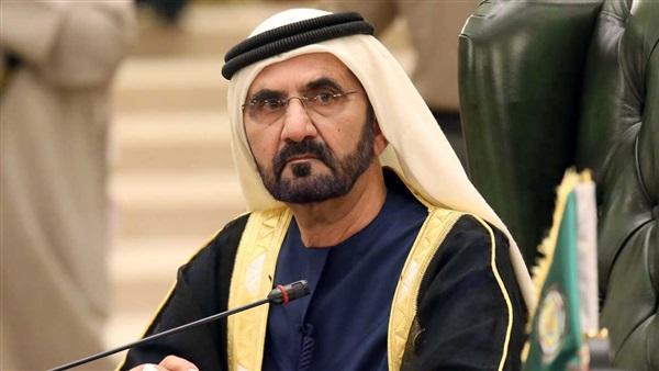 محمد بن راشد: الإمارات وشعبها تربوا على حب المصريين