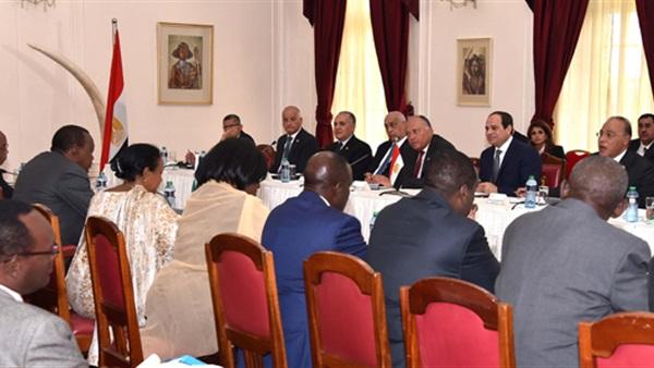 السيسي يعقد مع «عون» جلسة مباحثات ثنائية اليوم