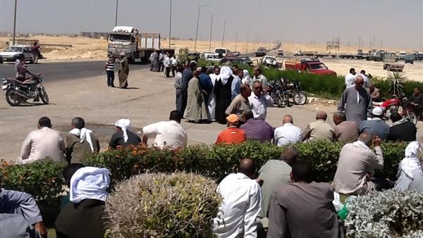 اعتصام عمال تيتان بني سويف يدخل أسبوعه الثالث