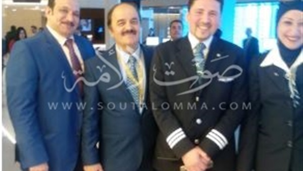 الخطوط السعودية تدشن جناحا لرجال الأعمال بمطار القاهرة