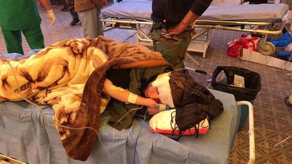 تفاصيل إصابة صحفية جزائرية بالعراق على يد قناص «داعش» (صور)